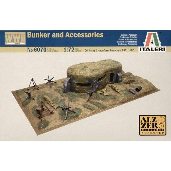2a Guerra Mondiale Bunkers e accessori