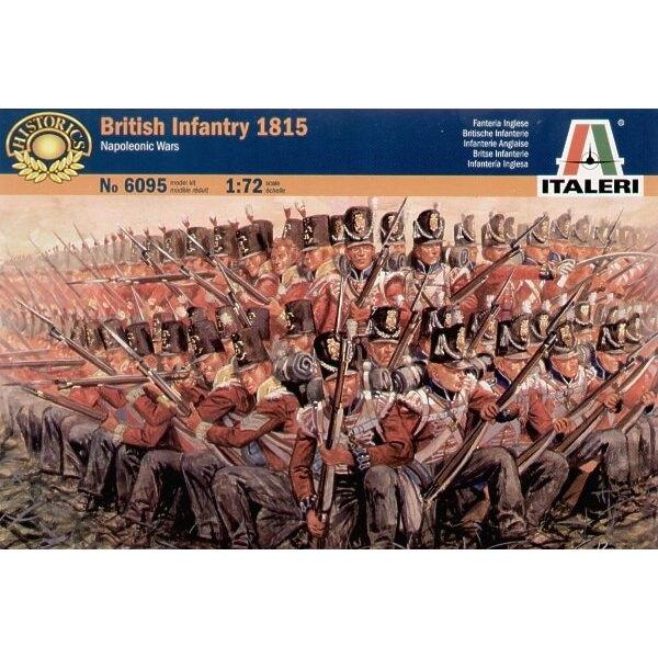 Guerre Napoleoniche: Fanteria Britannica 1815