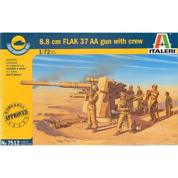 88mm Flak 37 AA Gun