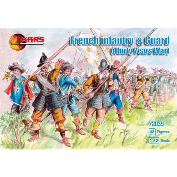 Thirty Years War French Infantry and Guards