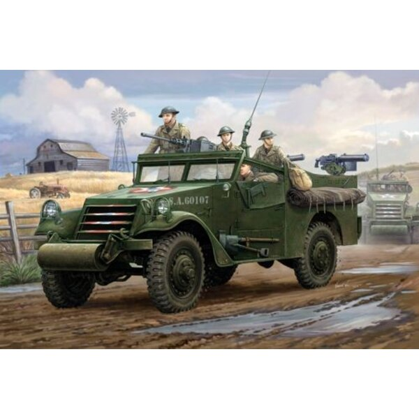 U.S M3A1 White Scout Car Early Production