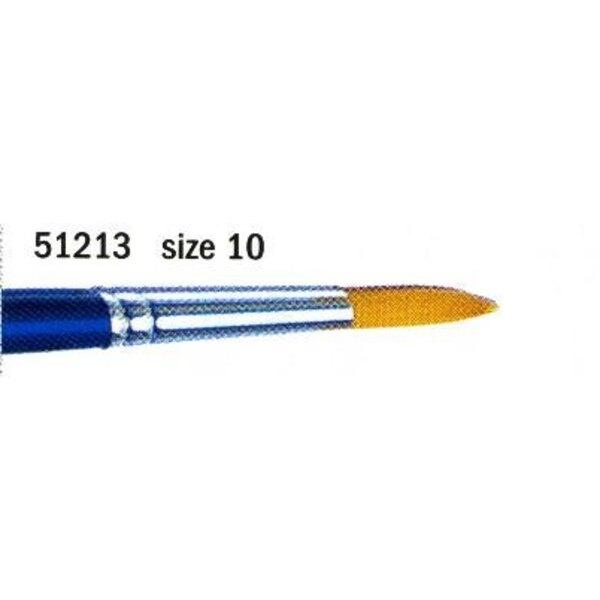 Pennello a punta N.10 sintetico