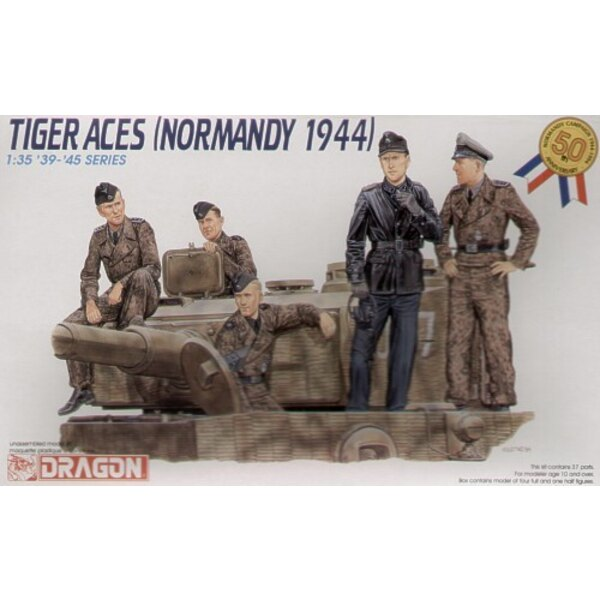 Pz.Kpfw.VI Tiger tank crew Normandy 1944