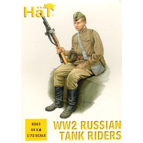 Russian (WWII) Infantry tank riders
