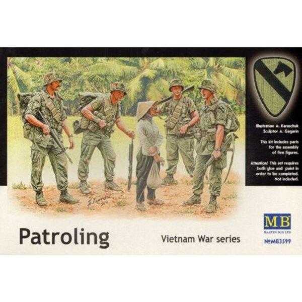 Patroling. Vietnam War Series