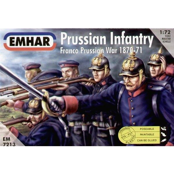 Prussian Infantry Franco Prussian War