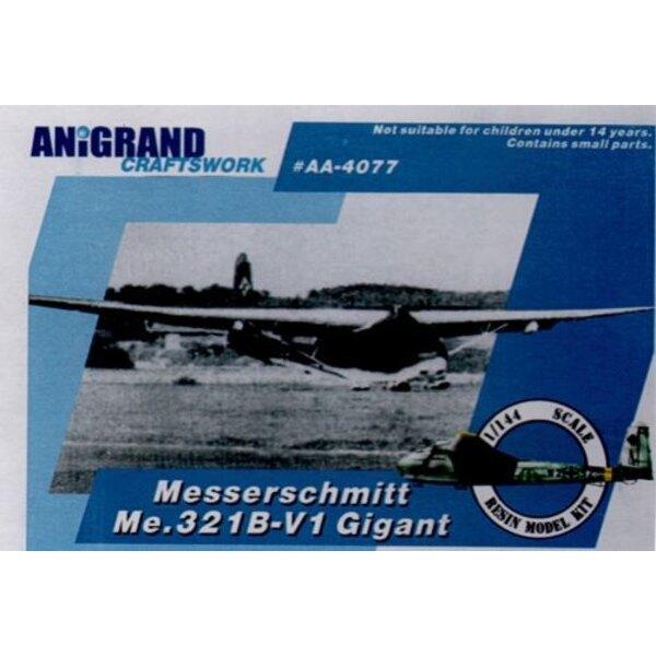 Messerschmitt Me.321 Gigant. Heavy glider for invasion of Britain & Russia. Includes bonus kits of the Gotha Go.50 / Lippisch Gl