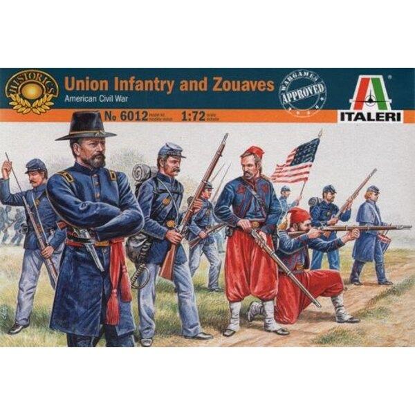 Unione fanteria e zuavi
