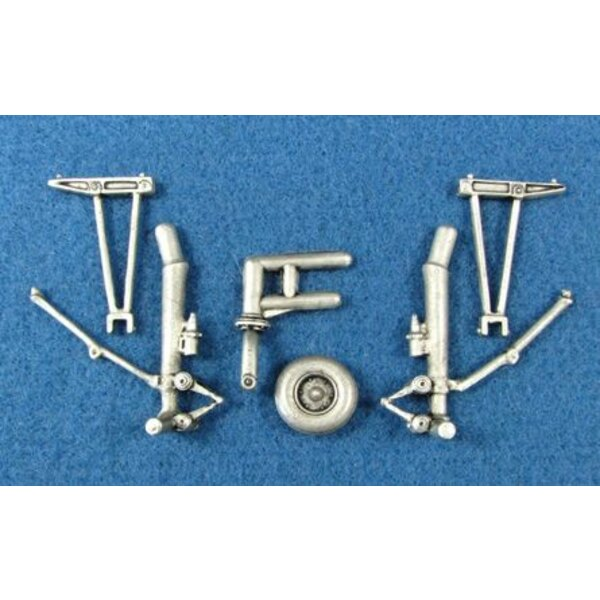 Boeing B-17F/B-17G Landing Gear (designed to be used with Monogram and Revell kits)