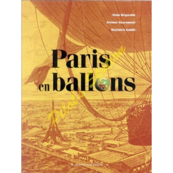 Libro Paris en Ballon