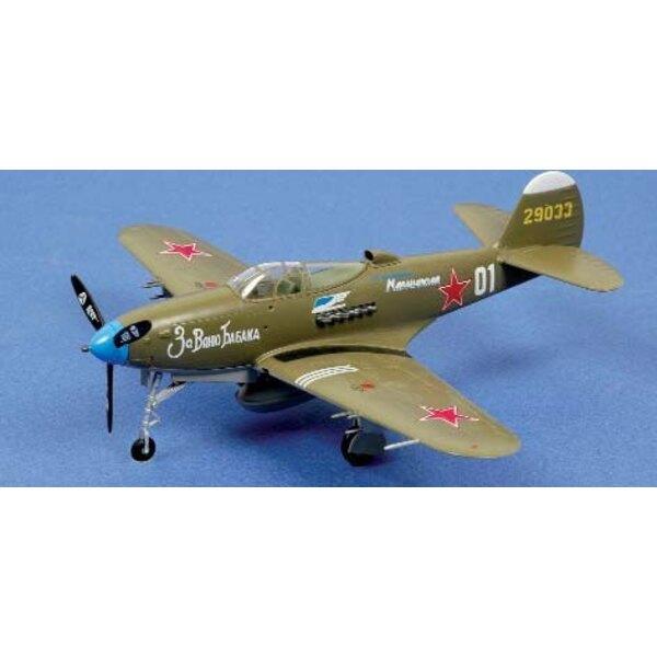 """P-39N Airacobra """"""""White 01"""""""" CCCP"""
