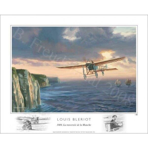 FB - 1909, Louis Blériot traversant la Manche
