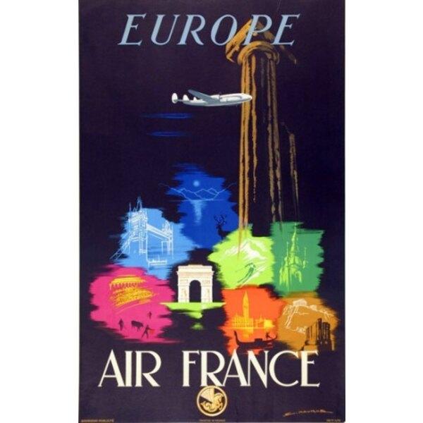 Air France - Europe - A.Maurus 1948
