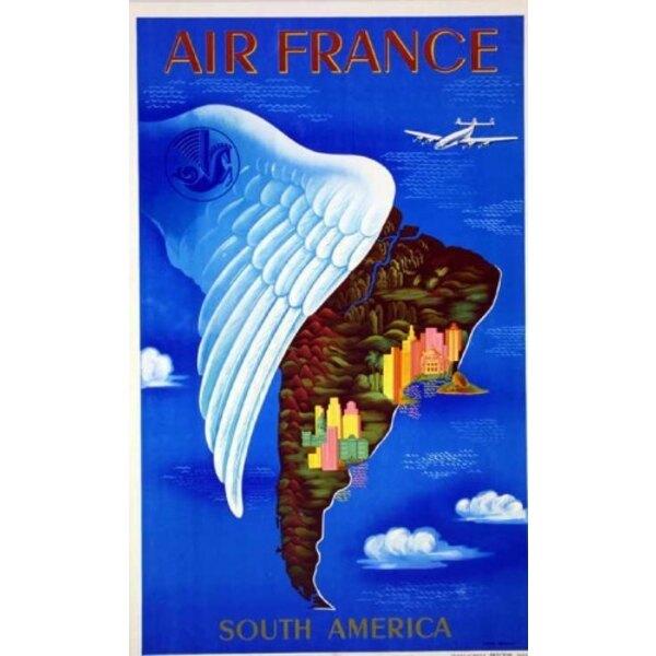 Air France - Amérique du Sud - L.Boucher 1950