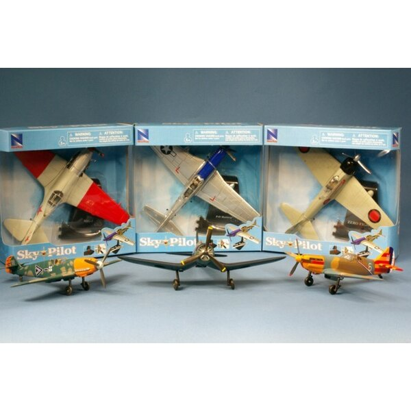 Fighters WWII - (6pcs)