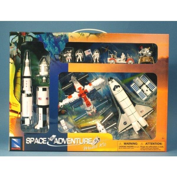 Space Adventure coffret/Set - 15 pieces (2 sets)