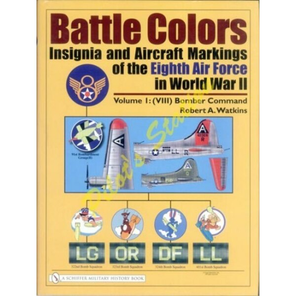 Libro Battle Colors: Insignia and Aircraft Markings of t