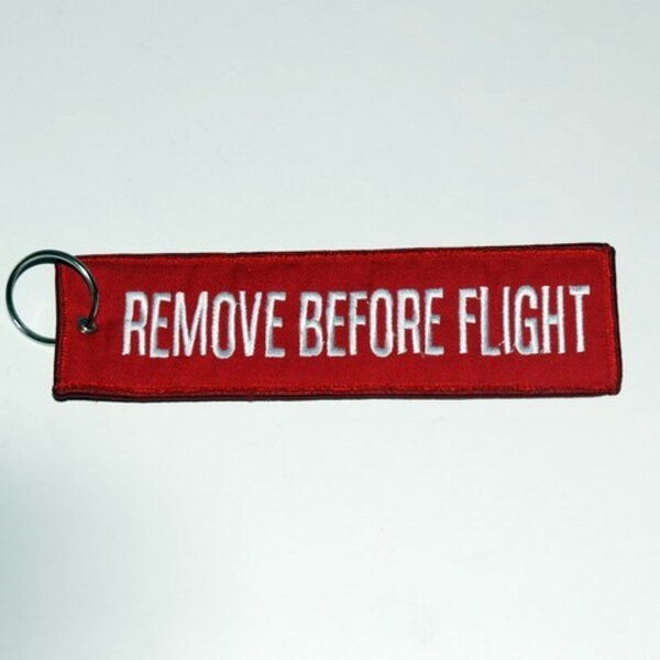 Remove Before Flight Large - 17x4.50cm