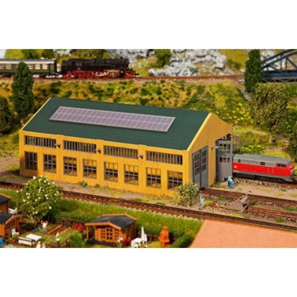 Contemporary engine shed
