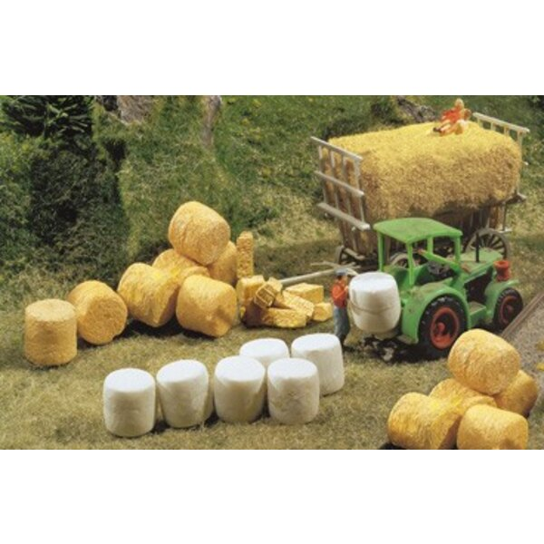 Silo- and straw bales