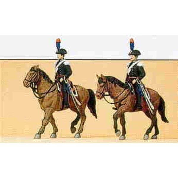 Polizia italiana a cavallo