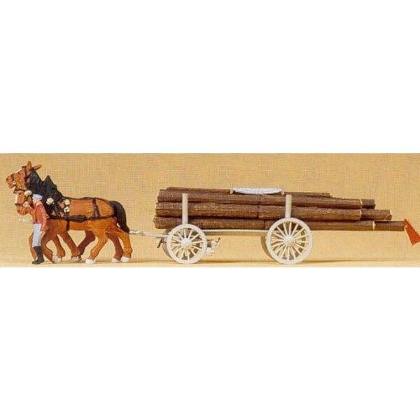 Carro di legno