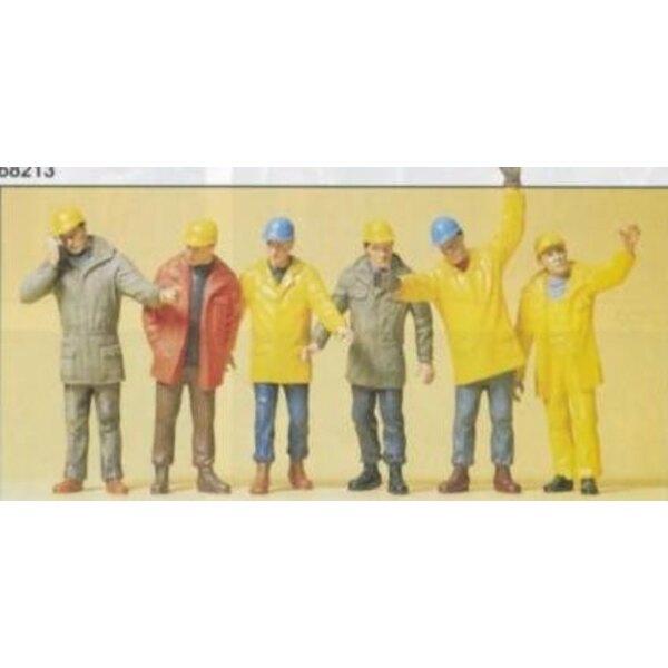 Gli operai di fabbrica