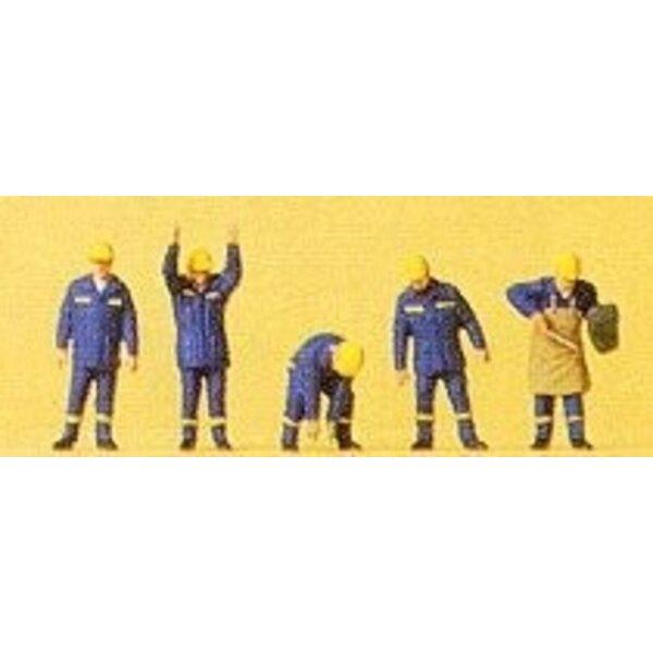 Lavoratori dei servizi di emergenza thw