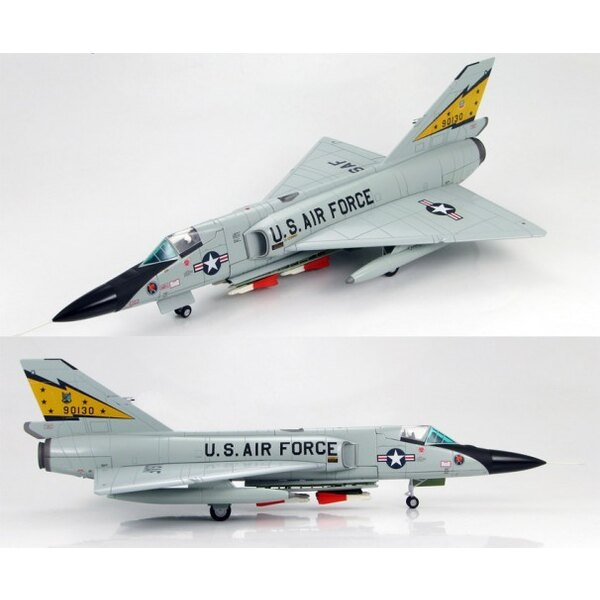 F-106A Delta Dart 5th FIS USAF 1984 ˝Spittin Kitten˝