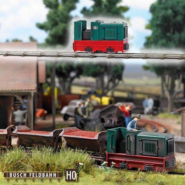 Scartamento ridotto locomotiva cabina aperta