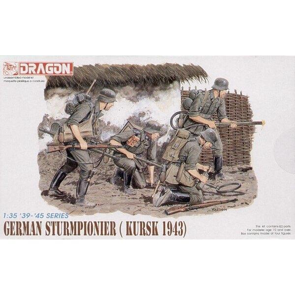 German Sturmpioneers, Kursk 1943