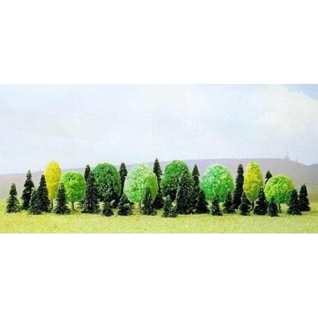 Confezione da 35 alberi assortiti