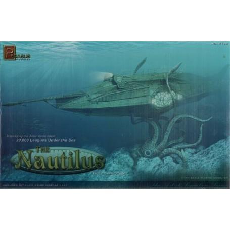 Sottomarino Nautilus dal romanzo di Jules Verne, 20.000 leghe sotto i mari