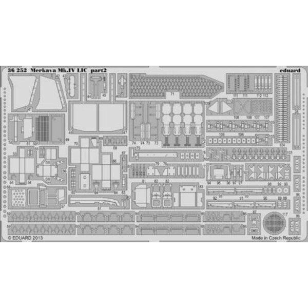 Merkava Mk.IV LIC (progettato per essere utilizzato con i kit Academy)