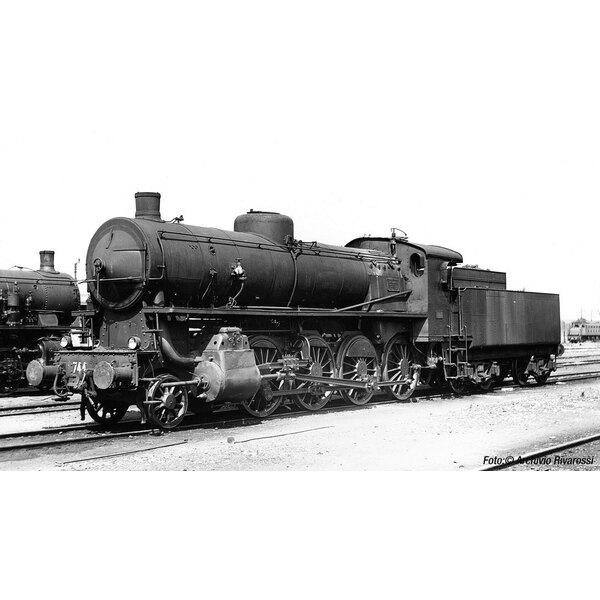 Locomotiva a vapore gr.744 Caprotti, tenera bogie sua dc