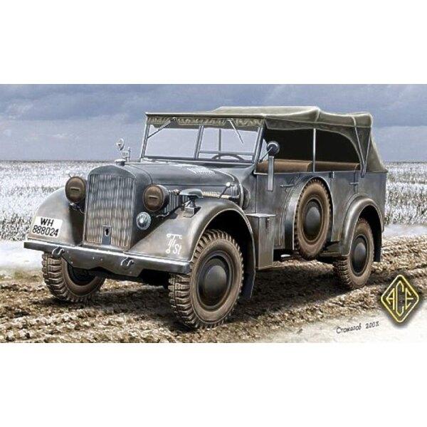 Kfz.15 German WWII staff car