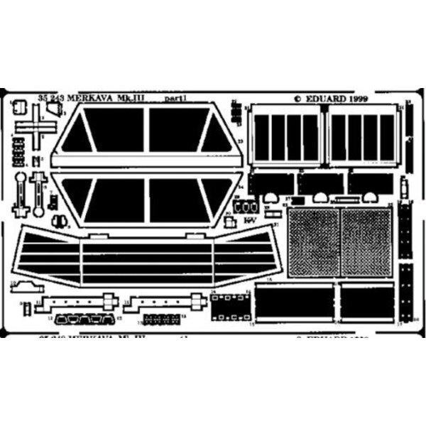 Merkava Mk.III (per i kit modello da Academy)