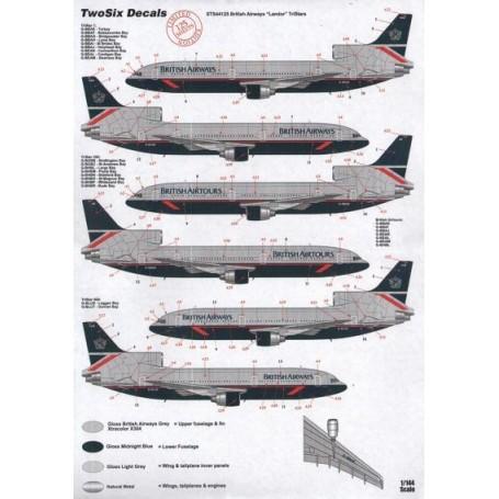 1//144 DECALS BOEING 707 436  BRITISH AIRWAYS DECALCOMANIE