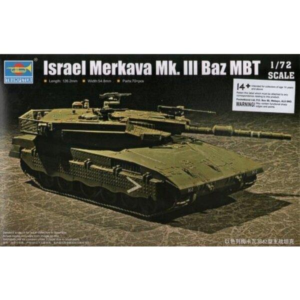 Israeli Defence Force/IDF Merkava Mk.3 Baz MBT