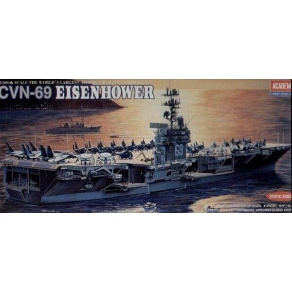 USS Eisenhower CVN-69 (WAS AC1440) 1 / 800-14.212 Academy