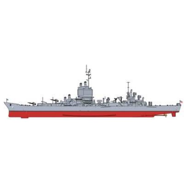 uss lunga spiaggia CGN settembre 1980 1/700-Cyber-Hobby BH7135