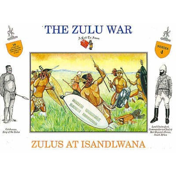 Zulu at Islandwana 16 figures
