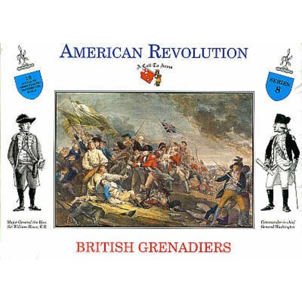 British Grenadiers 16 figures