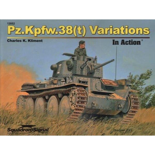 Pz.Kpfw.38 ( T ) Variazioni in Azione