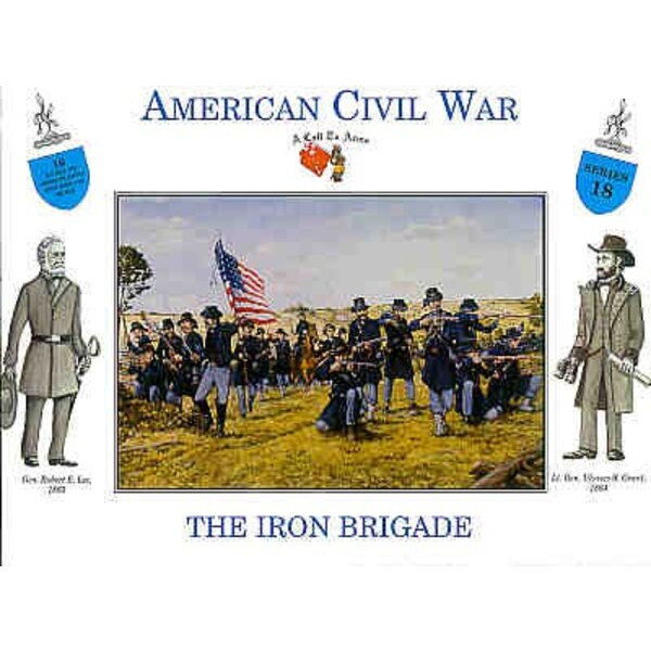 American Civil War Union Infantry. The Iron Brigade 16 figures