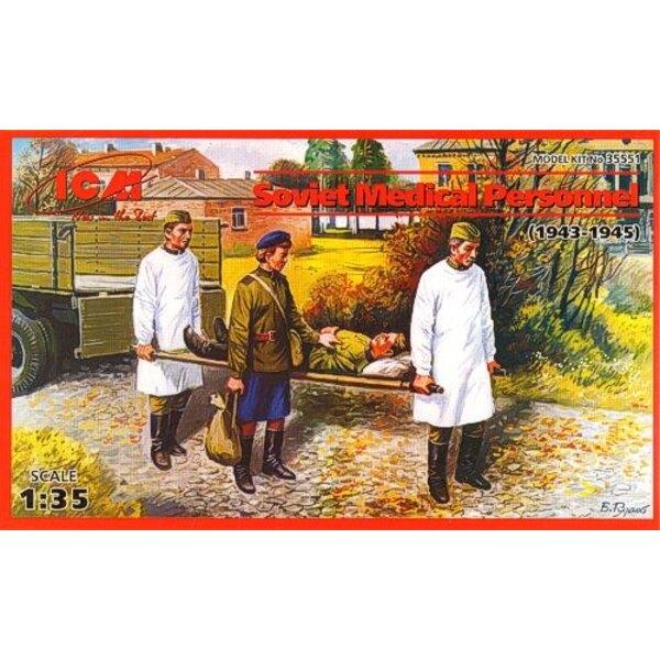 Soviet personale medico ( 1943-1945 ) Set di 4 cifre