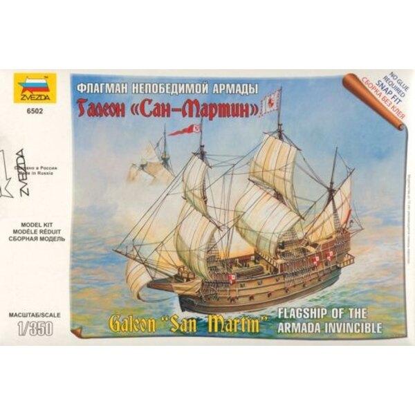 Galeon San Martin nave ammiraglia della Armada Invincible