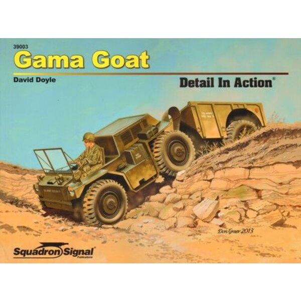 Gamma Capra Dettaglio In Azione