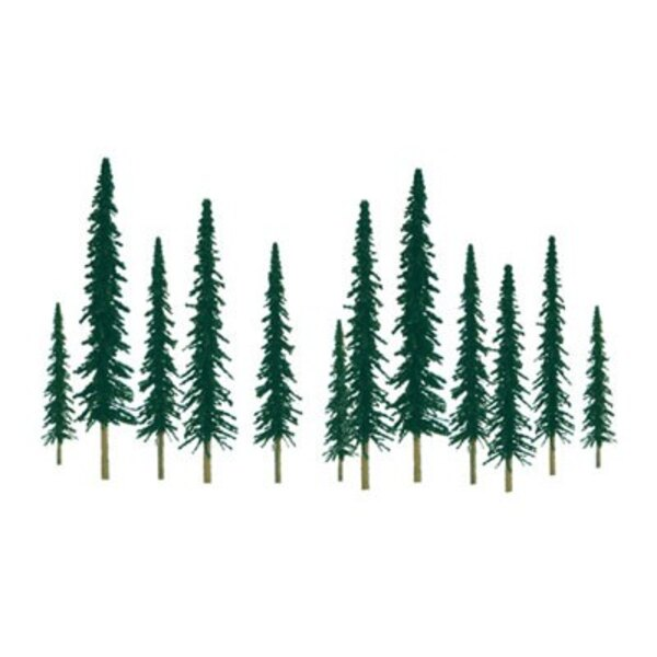 CONIFER 100 a 150mm . HO SCALE