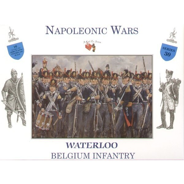 Belgian Infantry Waterloo